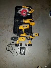 Dewalt 18v combo saw, drill, and nailer  Chantilly