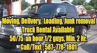 moving/Pickup/delivery Services EDMONTON