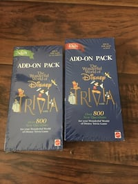 Disney trivia add-on packs (Factory Seal) Elkhart, 46516