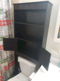 Over-the-toilet shelf/cabinet