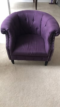 Purple chair Ajax, L1T 0N8