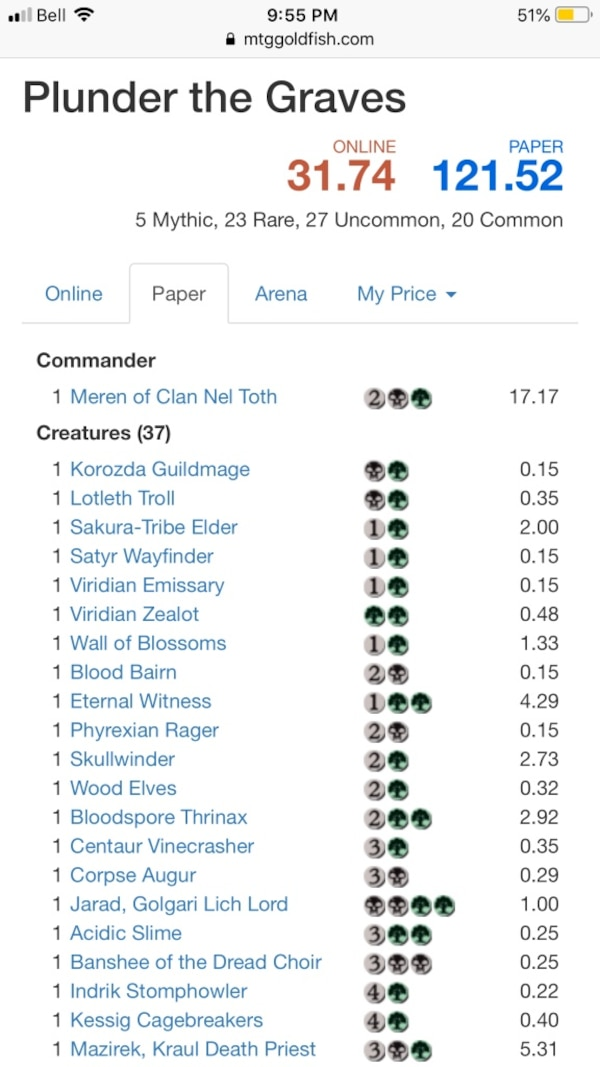 Magic the gathering 2015 Commander deck Meren, of clan nel toth bb2d0c34-171b-417c-beee-f00491a26d95