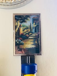 brown wooden framed painting of trees Fremont, 94536