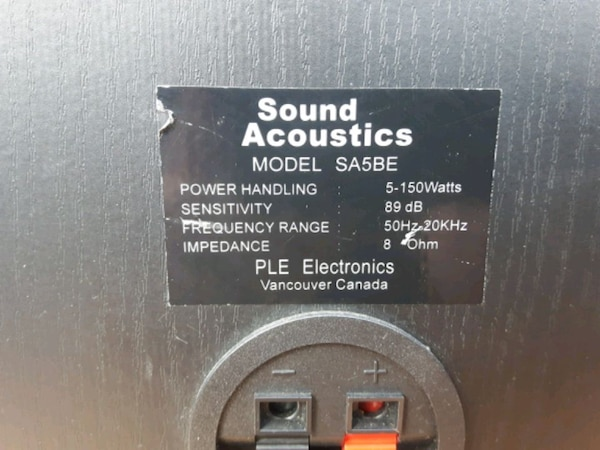 Sound acoustic speakers  4357a840-9ebb-411b-a559-c012f29fe37f