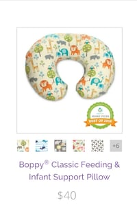 Boppy Nursing and Infant Pillow  Centreville, 20120