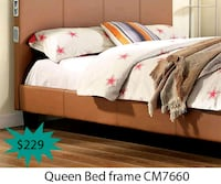 Queen bed frame  La Mirada, 90639