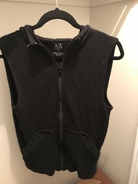 Men's small vest with studs on hood (Armani Exchange)