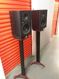 Pair of Mackie HR824mk1 Speakers and Stands Washington, 20003