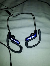 black and blue corded headphones Calgary, T2A 5X6