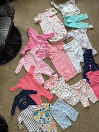 Baby girl 3-6 months clothing