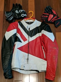 Retro Vintage Motorcycle Jacket and 2 gloves Danville, 94506