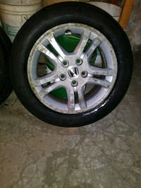 16in 5lug Honda Wheels & Tires $260