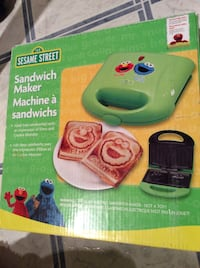 Kids Sesame Street Sandwich Maker Winnipeg, R3L 0B2