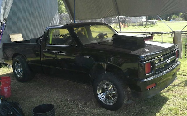 Used Chevy S10 Chop Top Drag Racing Truck 385 Stroker E For Sale In