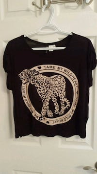 Tame My Wild Heart off the shoulder top Guelph, N1G 4L9