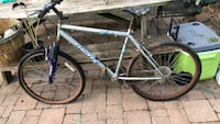 gray and blue hardtail mountain bike Taneytown, 21787