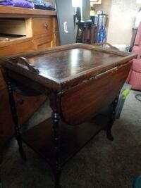Vintage Tea Tray Cart/ Table DENVER