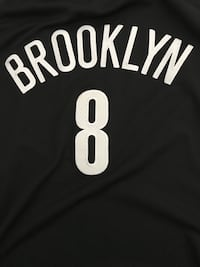 Deron Williams Brooklyn Nets Black and white adidas jersey  Toronto, M1G 1R5