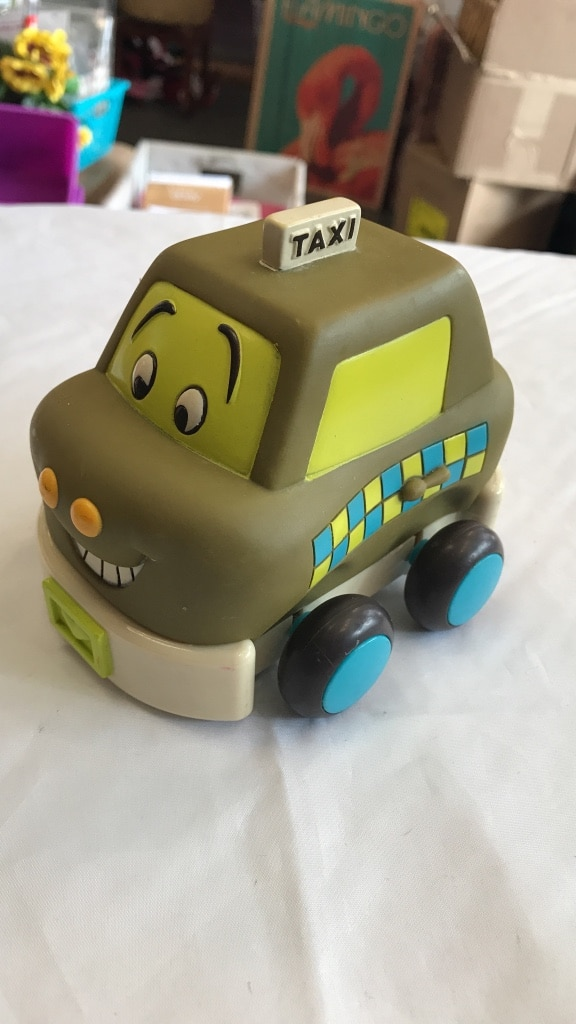 Used grey and grey Taxi toy car in South San Francisco