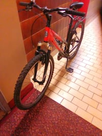 red and black hardtail mountain bike Toronto, M1P 4P5
