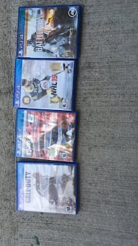 PS4 games 5 each London, N5W 5X2