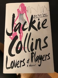 LIKE NEW Hardcover Jackie Collins - Lovers and Players Hardcover Vaughan, L4K 5L4