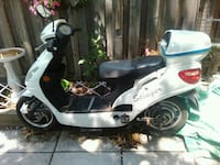white and black motor scooter Mississauga