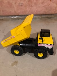 Tonka Classic Steel Mighty Dump Truck & steel front end loader Milton