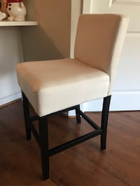 Four Clean Beige/Black Barstools Arlington, 22209