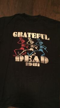 Mens 1981 grateful dead black shirt size medium