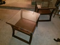 Pair of glass tables Henderson, 89014