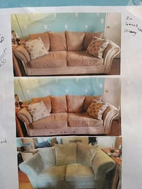 Sofa and or loveseat. light brown tones. Wilmington, 19810