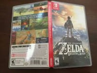 Breath of the wild switch game and case Westland, 48185