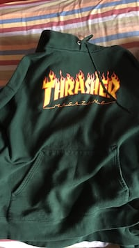 Forest Green Thrasher Hoodie (M) Guelph, N1K 1R7