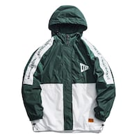 THE UNDERWAVE REGGIO FULL ZIP WINDBREAKER JACKET W
