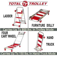 Total Trolley Step Ladder Hand Truck Furniture Dol Glenarden, 20706
