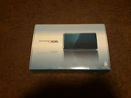 Nintendo 3DS in original box w/ carrying case and games