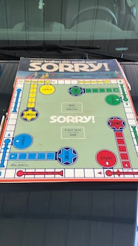 Old Sorry Board Game Bristol, 37620