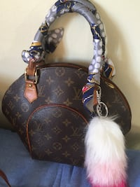monogram klassisk Louis Vuitton veske