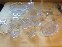 Cut glass dishes - bulk  King Of Prussia, 19406