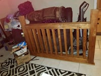 Full size bed frame only  Oklahoma City