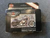 Harley-Davidson Numbered Limited Edition Collector Tin and Playing Cards Toronto