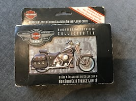 Harley-Davidson Numbered Limited Edition Collector Tin & Playing Cards