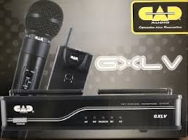 CAD Audio VHF Wireless Dual Handheld Microphone System - H-Frequency B
