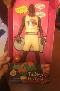 Collectible item space jam mj