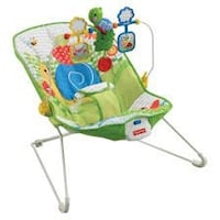 green and blue Fisher-Price cradle and swing Saugus, 01906