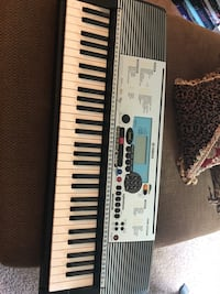 black and white electronic keyboard Decatur, 30034