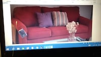 Queen Size Sleeper Couch - Burgundy Color - Barely Used! Bowie, 20721