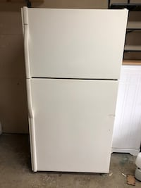 white top-mount refrigerator Wikiup, 95403