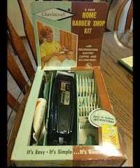 Charlescraft Home Barber Shop Kit Phoenix